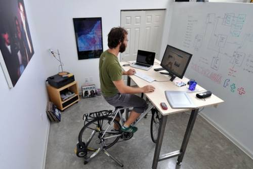 Upstanding Citizen #15: Dan Young and the Cycling Desk   Hunter ...